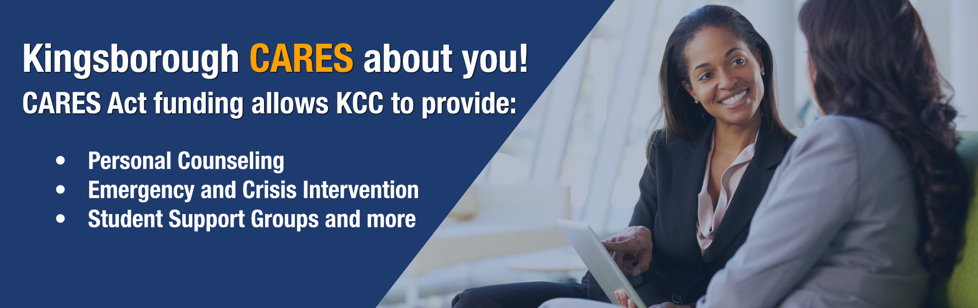Kingsborough CARES about you!