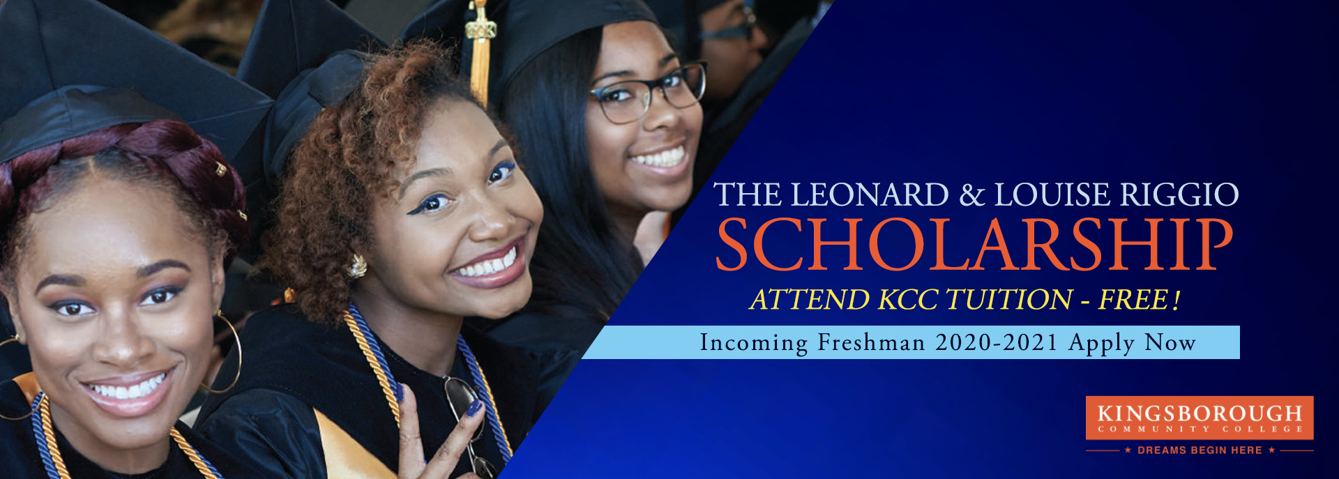 The Leonard and Louise Riggio Scholarship Application