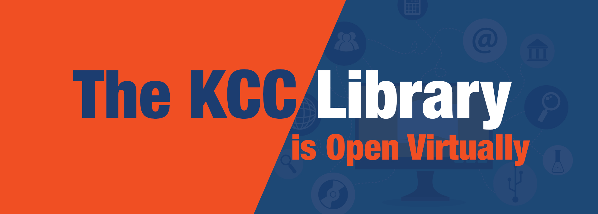 The KCC Library is Open Virtually